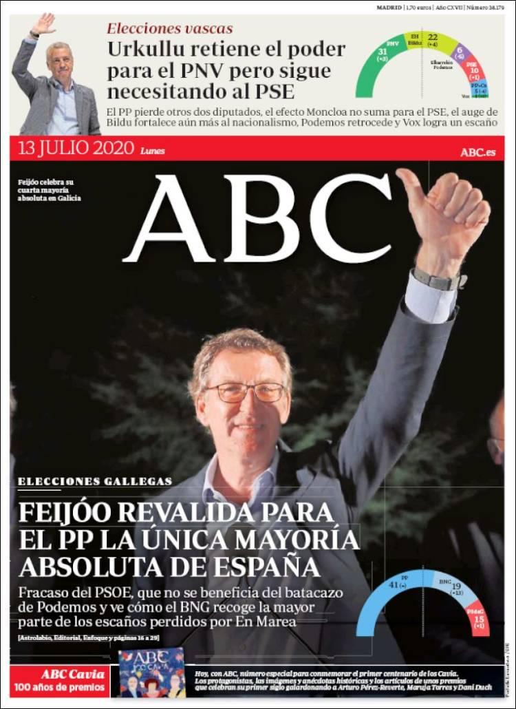 DIARIO ABC 13-7-2020 Abc.750