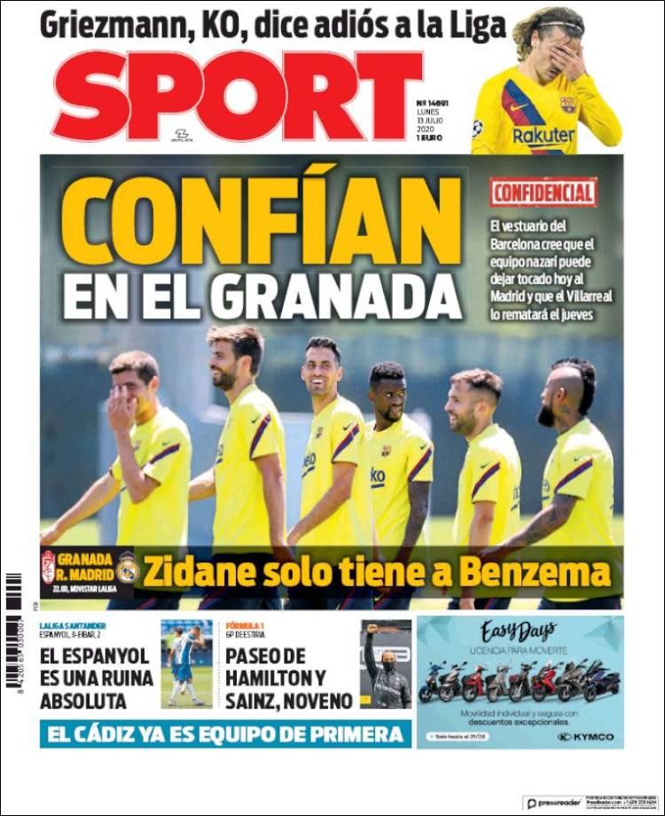DIARIO SPORT 13-7-2020 Sport.750