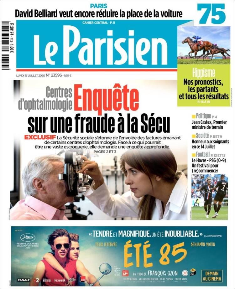 LE PARISIEN 13-7-2020 Parisien.750