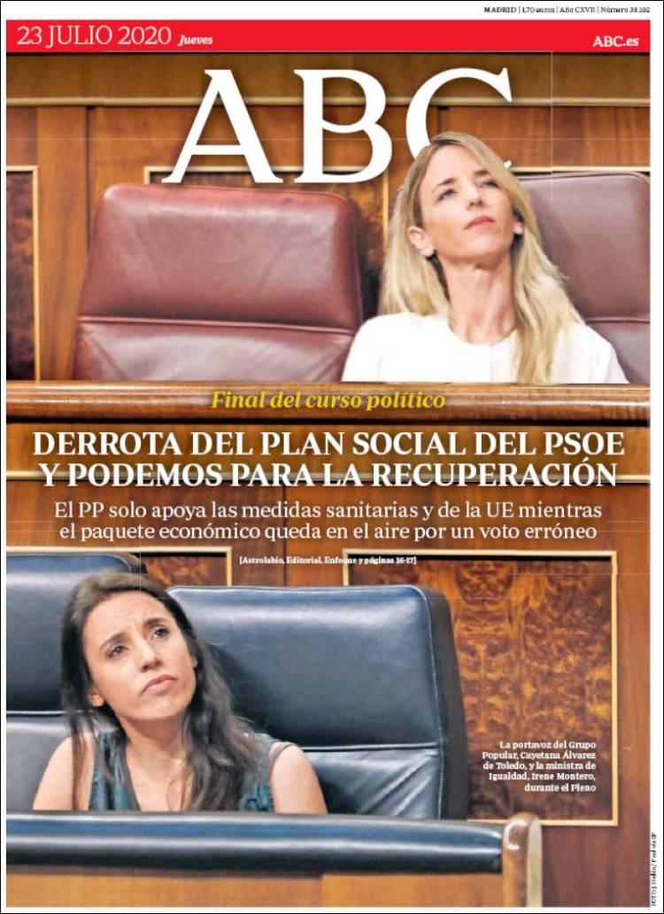 DIARIO ABC 23-7-2020 Abc.750