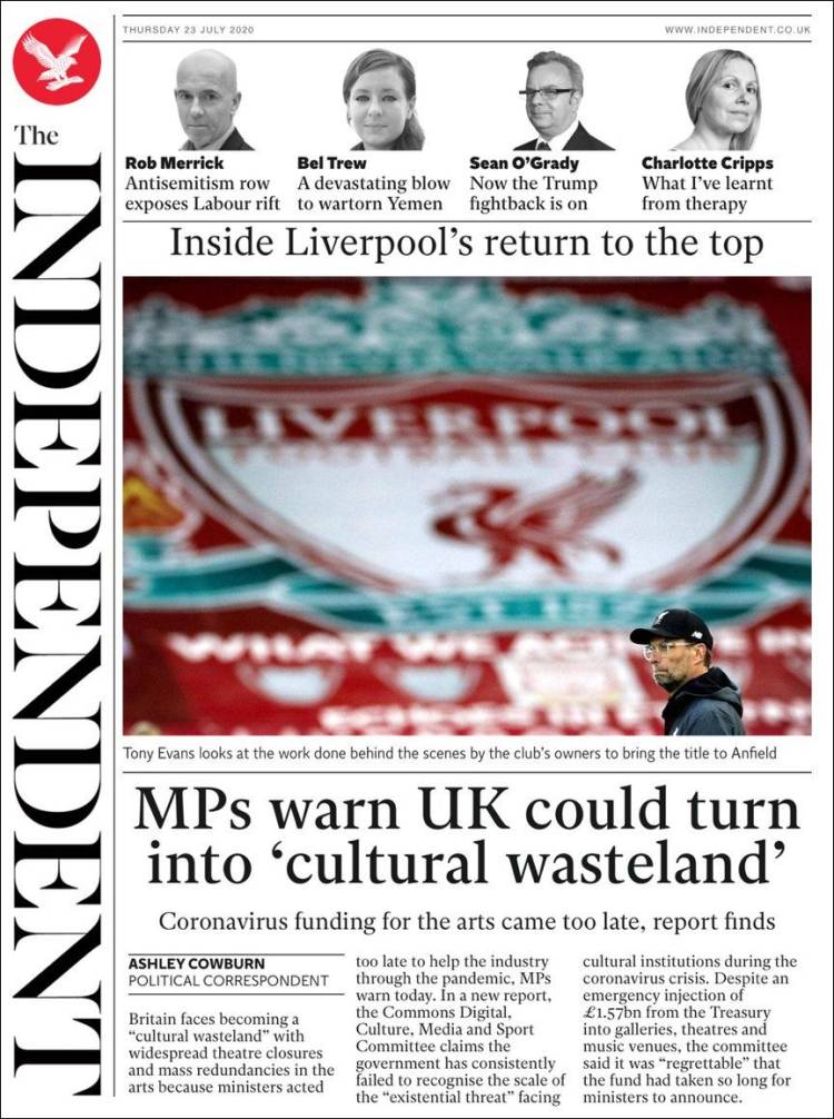 THE INDEPENDENT 23-7-2020 The_independent.750
