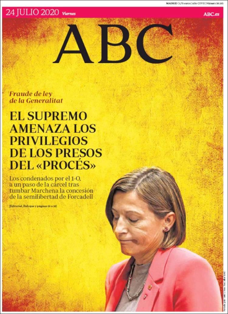 DIARIO ABC 24-7-2020 Abc.750