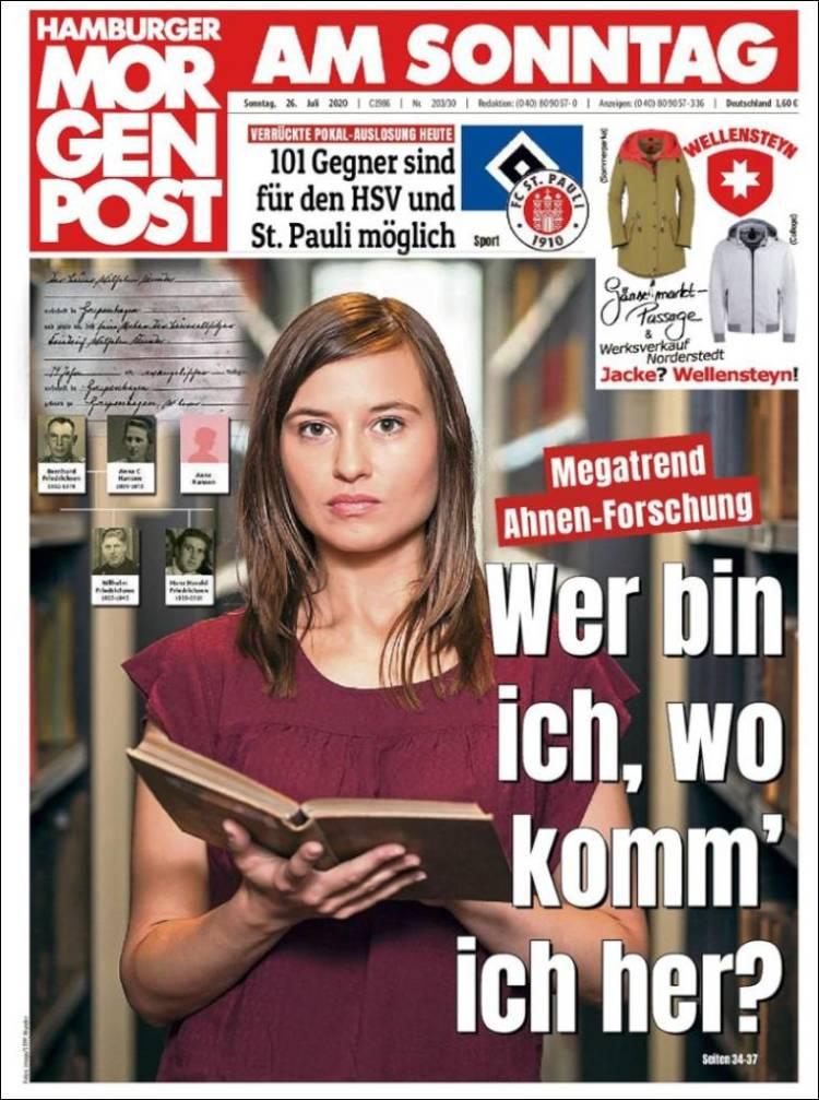 Hamburger Morgenpost 26 Juli 2020 H_morgen_post.750