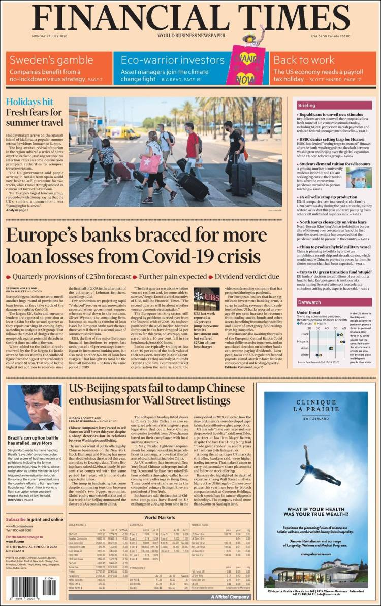 FINANCIAL TIMES EUROPA  27-7-2020 Ft_us.750
