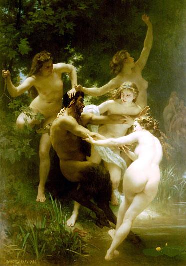 Уильям Бугеро (Академическая живопись, Франция, многа обнаженки!!!:lol:) 15459013_nymphs_and_satyr