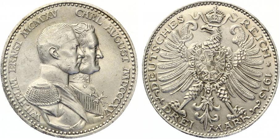 Que moneda eligo? 3 mark Sajonia-Weimar-Eisenach 16867_20131026008_m