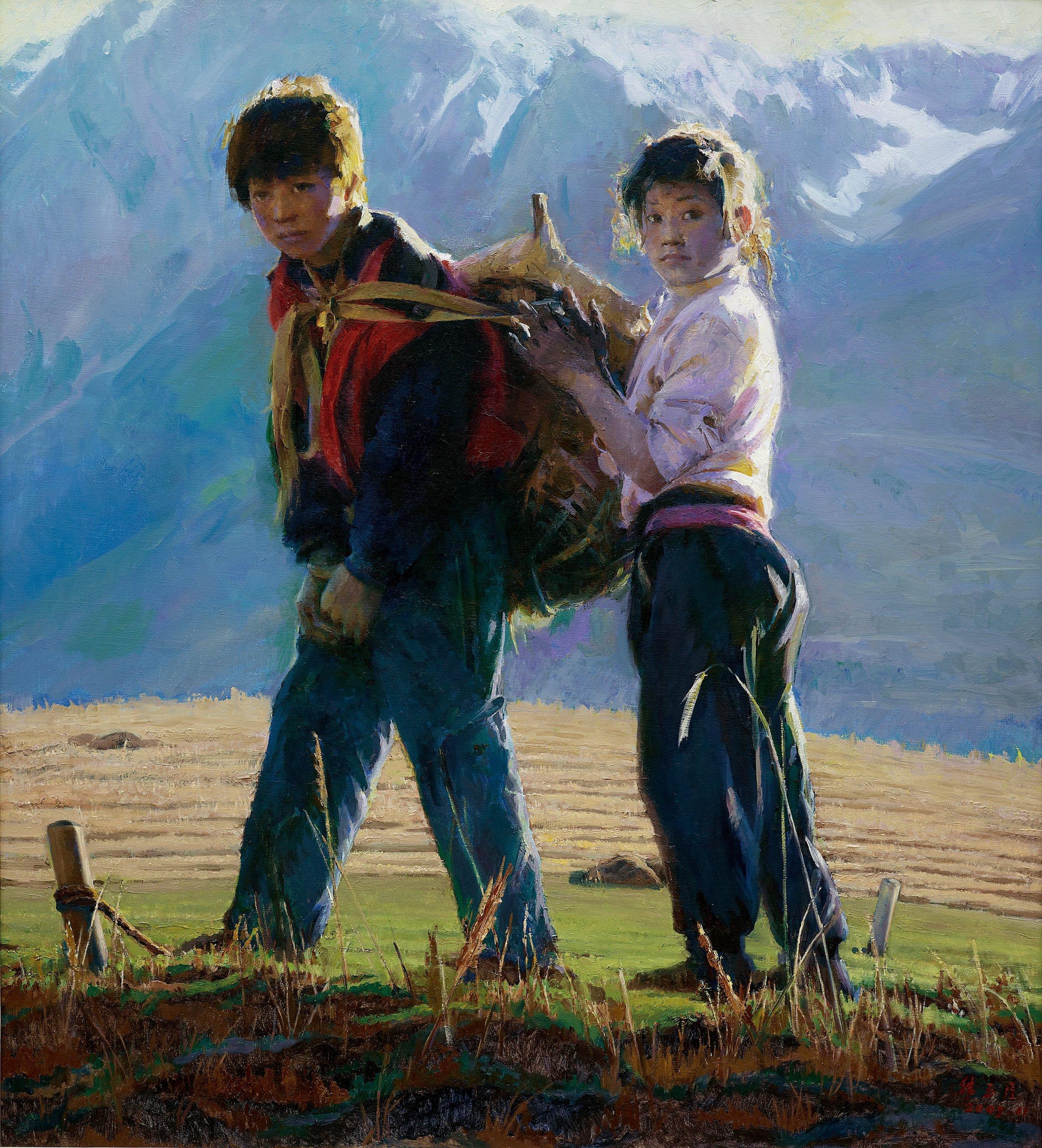 L'artiste chinois Han Yuchen - Masterpiece de Londres 5b144c74bbddbd44c879206e