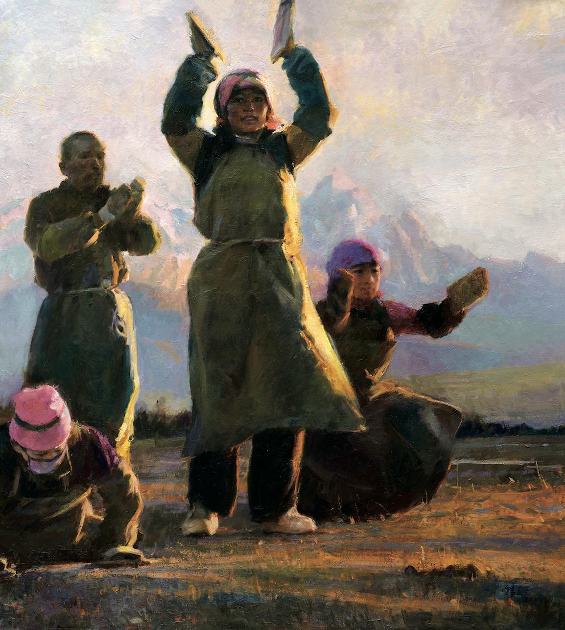 L'artiste chinois Han Yuchen - Masterpiece de Londres 5b144de6bbddbd7d8778f505