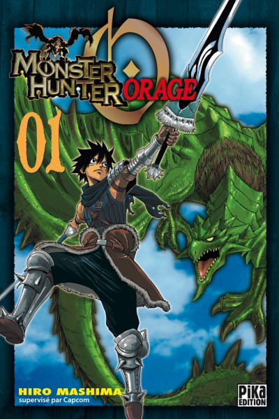 Vos acquisitions Manga/Animes/Goodies du mois (aout) - Page 3 Monster-hunter-orage-manga-volume-1-simple-29454