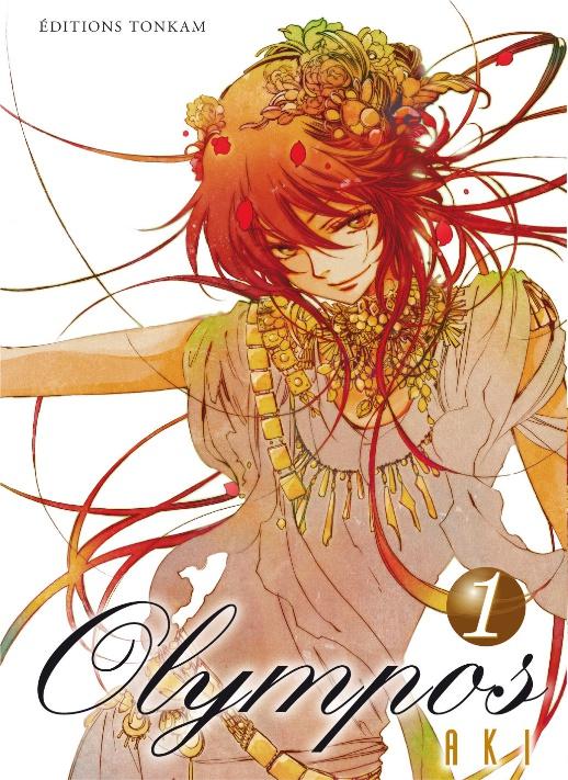 Vos couvertures de mangas préférées ? Olympos-manga-volume-1-simple-55221