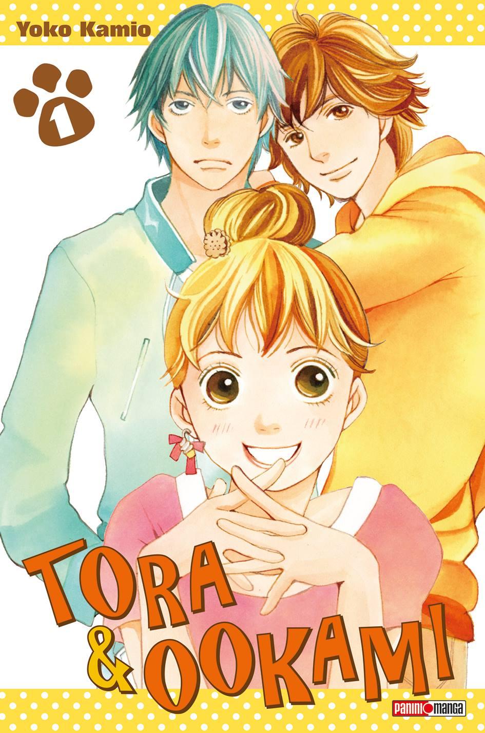 KAMIO Yoko - Tora et Ookami - Vol. 1 Tora-okami-manga-volume-1-simple-75760