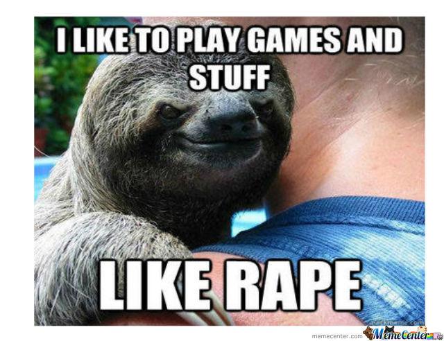 Spam Tema.... Rapist-sloth_o_794844