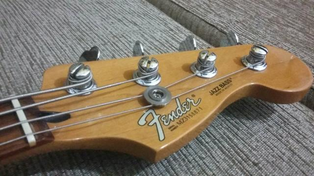Fender Jazz Bass Mexicano Flamed Maple 810607091506168