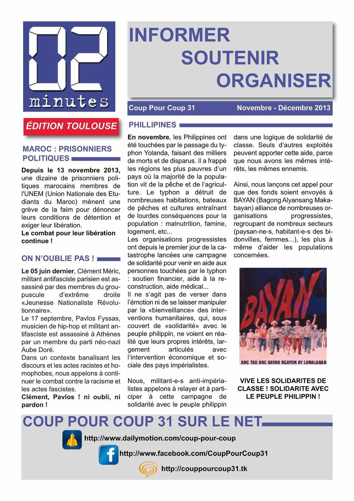 """Bulletin """"02 Minutes"""" (Coup Pour Coup 31) Ob_b41a84_02-minutes-decembre-2013-page-1"""