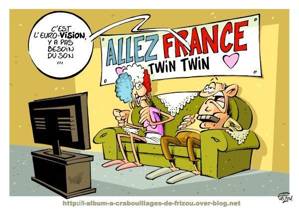 A RIRE OU EN PLEURER OU REVUE DE PRESSE SATIRIQUE - Page 6 Ob_62dcaa_eurovision-twin-twin-frizou