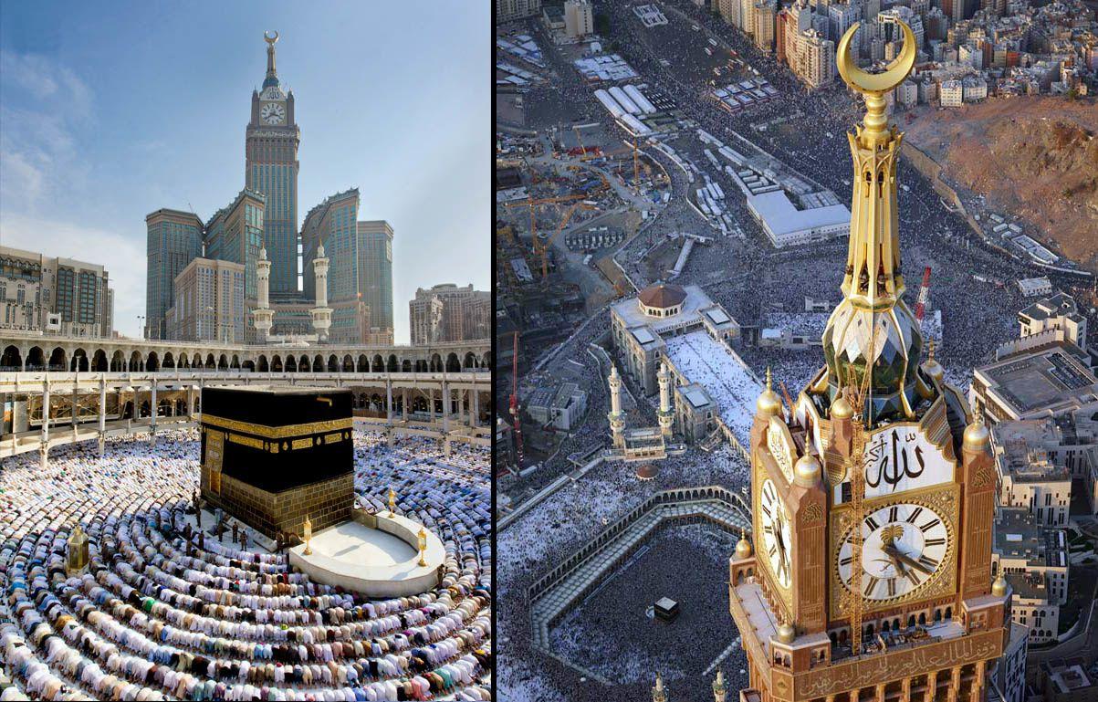 "Qui est ""Allâh"" ??? Ob_c7d5f7_makkah-royal-clock-hotel-abraj-al-bait-towers"