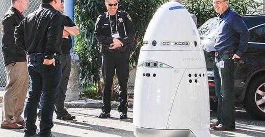 Des robots policiers vont patrouiller la Silicon Valley Ob_a7add3_knightscope