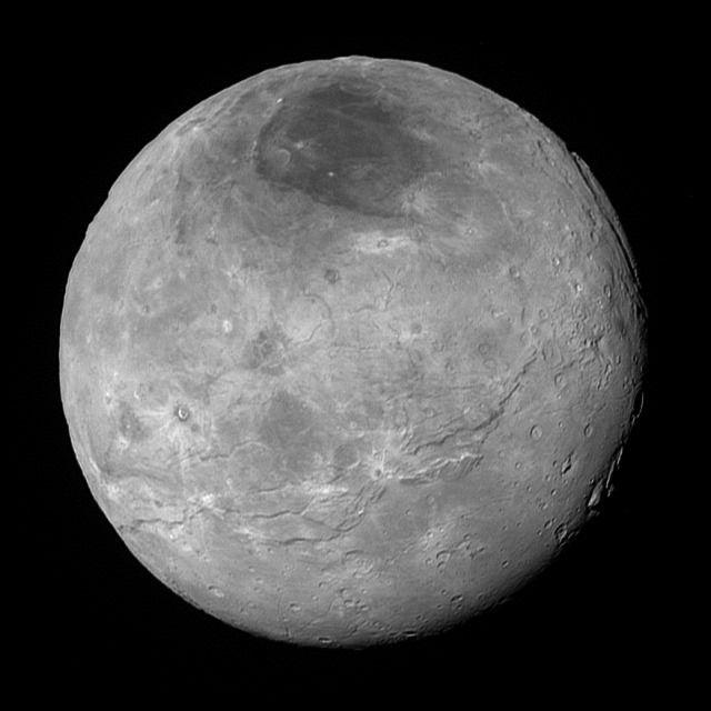 """Les nouveaux clichés de Pluton font """"halluciner"""" la Nasa Ob_4021f7_charon-10-9-15-thumb"""