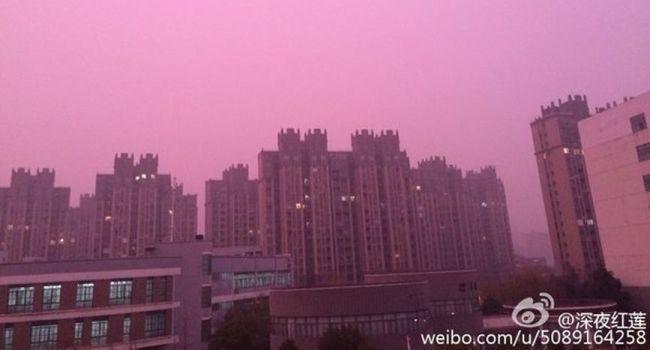 Chine : un étrange brouillard violet inquiète les habitants Ob_97f3d7_1938626-cw6kx7puaaag1q0