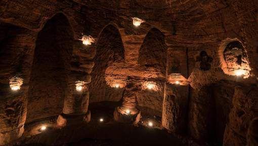 Découverte d'une grotte de 700 ans utilisée par les Templiers Ob_825c89_0000