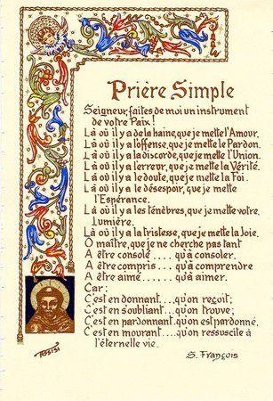 Saint François d'Assise raconté par St Bonaventure Ob_37907a_saint-francois-priere-simple
