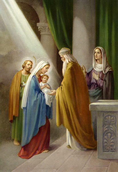 LE LIVRE D'HEURES DE LA REINE ANNE DE BRETAGNE (vers 1503) TRADUIT DU LATIN par M. L'ABBÉ DELAUNAY – Paris - 19 eme sièc Ob_dd63c7_presentation-de-jesus-au-temple-la