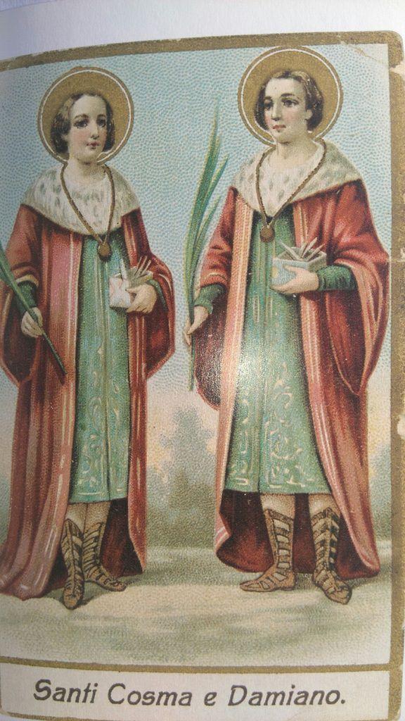 LE LIVRE D'HEURES DE LA REINE ANNE DE BRETAGNE (vers 1503) TRADUIT DU LATIN par M. L'ABBÉ DELAUNAY – Paris - 19 eme sièc Ob_d97f9c_saint-come-et-damien