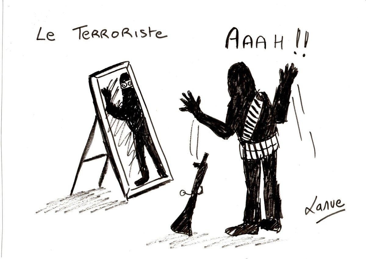 A RIRE OU EN PLEURER OU REVUE DE PRESSE SATIRIQUE - Page 21 Ob_7a1a63_terroriste