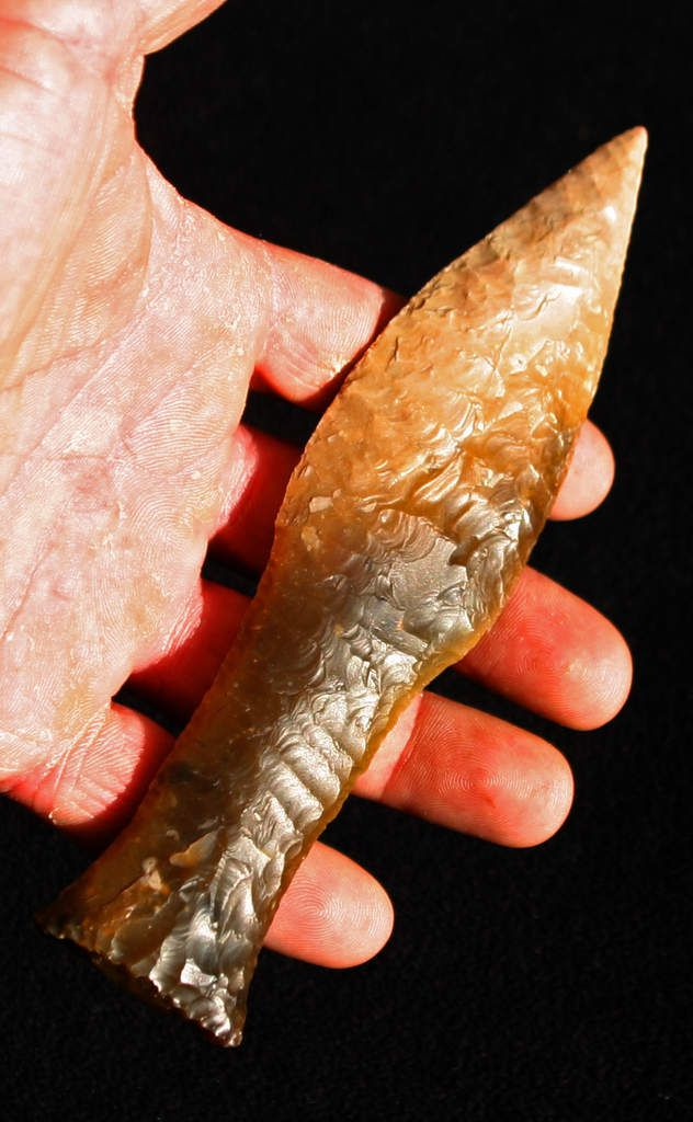 Un poignard et des armatures en cristal de roche - Espagne, Néo final Ob_53b815_dgt51