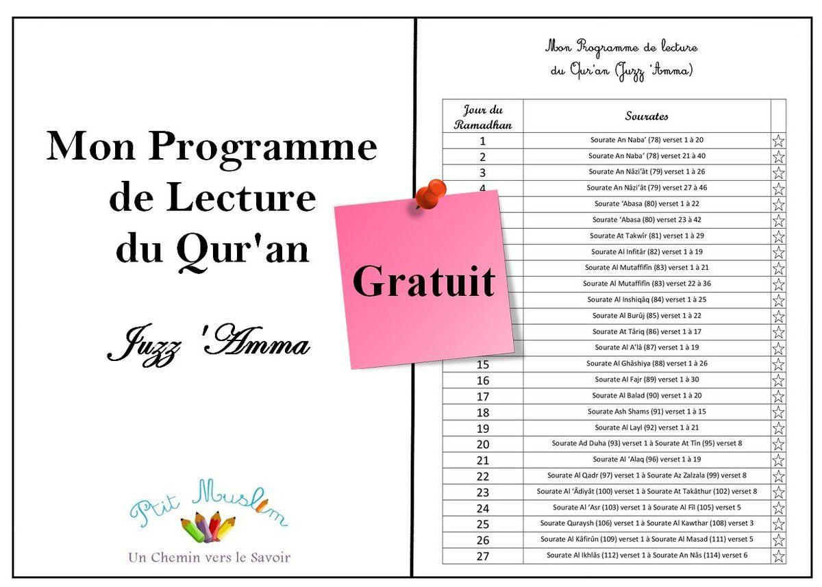 Programme de lecture enfant pendant le Ramadan (Juzz 'Amma) [à télécharger] Ob_ef415a_lecture-quran