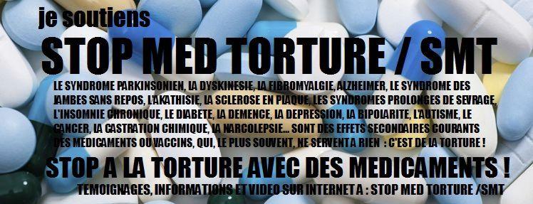 Troubles du comportement observés avec des médicaments dopaminergiques indiqués essentiellement dans la maladie de Parkinson ou le syndrome des jambes sans repos (2009) Ob_e0ad9a_stop-med-torture-maladies