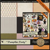 "{MissVivi} CU ""Bouquet"" et 4 ""Wedding Templates"" MissVivi_PumpkinParty_PV_600"