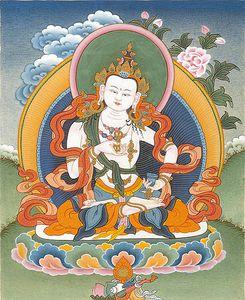 Prière des Quatre Incommensurables : Les quatre pensées illimitées (l'Amour, la Compassion, la Joie et l'Équanimité) Vajrasattva