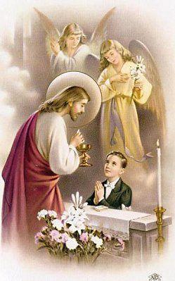 Le témoignage de Catalina, stigmatisée (2003) : La Sainte Messe(2) 8_up_First_Communion_Keepsake_sacred-20boy