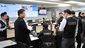"""Pyongyang menace d'une frappe nucléaire """"préventive"""" - Page 2 AFP_130320_p75he_cyberattaque-coree_sn635"""