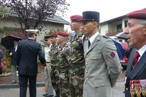 L'Union Nationale des Parachutistes fête la Saint Michel 2013 dans l'Ain  P1110186