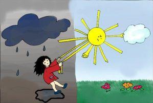 Lundi 11 avril Soleil-pluie