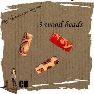 CU freebie - 3 Wood Beads by: Mariscrap Mariscrap_CU_freebie_perle_bois_prev