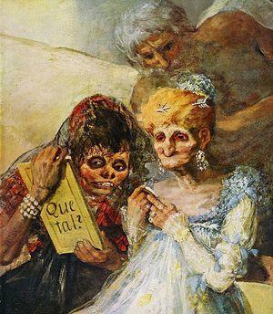Les petites vieilles - Charles Baudelaire Goya_013