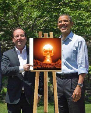 Guerre en Syrie [sujet unique] - Page 5 Hollande-obama