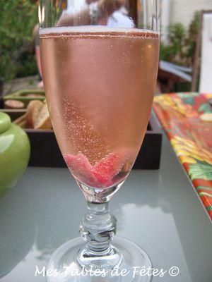 Anniversaire Willou  Champagne-rose