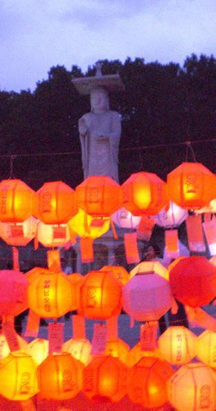 Happy Birthday Bouddha Corée CIMG4475