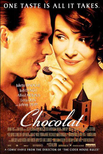 Une GB ... un film !  - Page 2 Affiche-le-chocolat