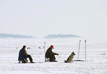 Bon Samedi Peche-sur-glace