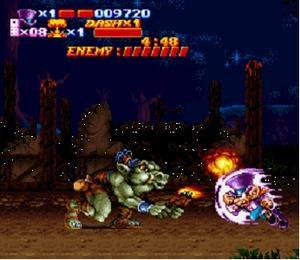Sorti de Nightmare Busters sur Super Nintendo Nightmare-busters-001