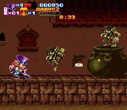 Sorti de Nightmare Busters sur Super Nintendo Nightmare-busters-004