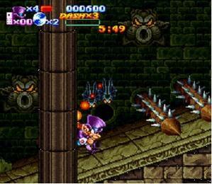 Sorti de Nightmare Busters sur Super Nintendo Nightmare-busters-002