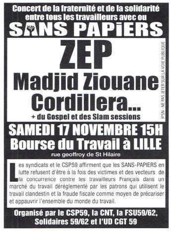 Concert de solidarité aux Sans-papiers 59 ! Affiche-CSP