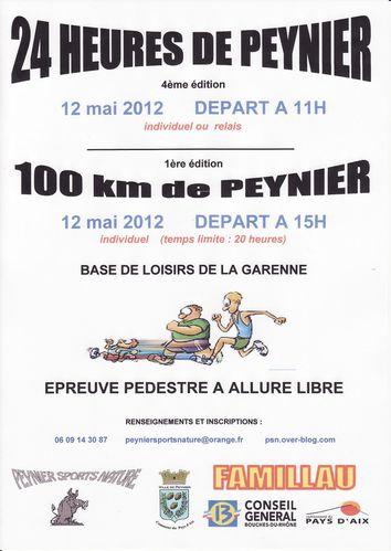 24 heures /100km de Peynier, places limitées : 12-13/05/2012 Affiche_0001-copie-1