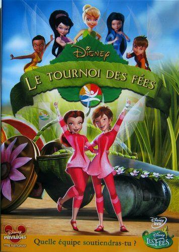 [BD + DVD] Clochette et Le Secret des Fées (13 février 2013) - Page 5 LE-TOURNOI-DES-FEES